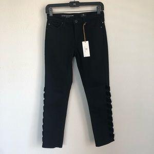 AG Prima Intertwined Crop Skinny Jeans Denim 24